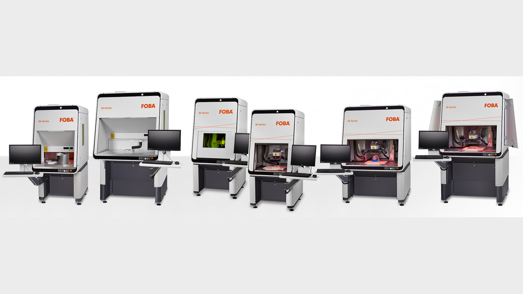 FOBA M-Series laser marking machines