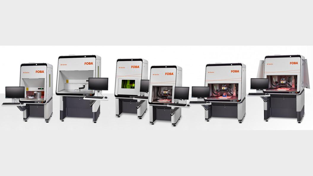 Lasermarkiermaschinen der FOBA M-Serie