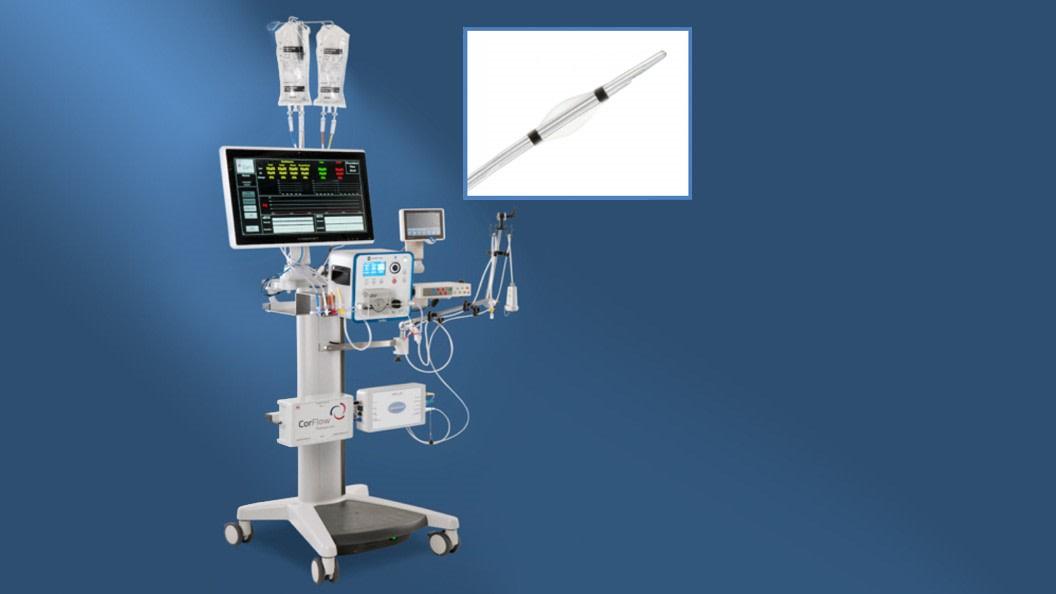 Die CorFlow Controlled Flow Infusion (CoFI™), Minimal Viable Console und Katheter