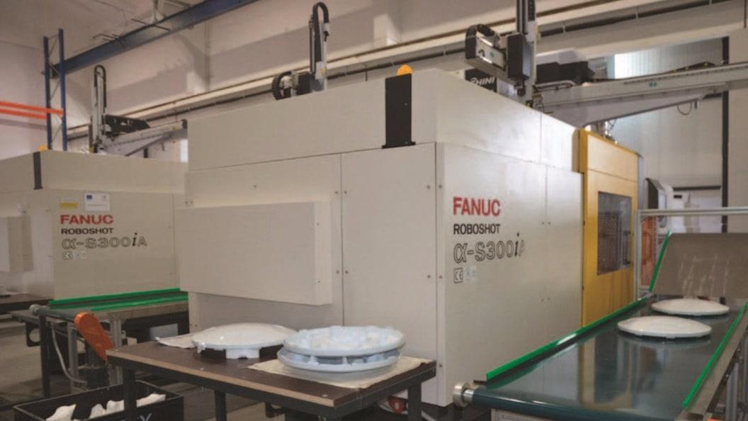 FANUC ROBOSHOT vollelektrische Spritzgussmaschinen mit 350 Tonnen Schliesskraft