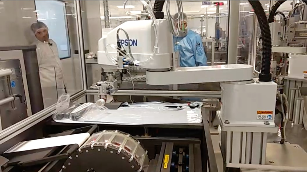 Shawpak Revolutionary Thermoforming - Fully Automatic InLine Packaging with 4-axis Robotic