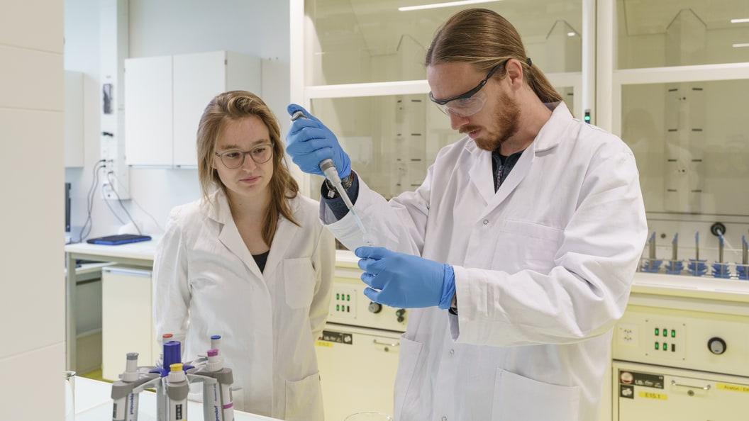 Vom Stall ins Labor - methodische Aufbereitung von Probenmaterial.