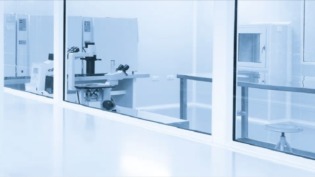 The cleanroom as a success factor at the Innovation Symposium of Swiss Medtech Expo.