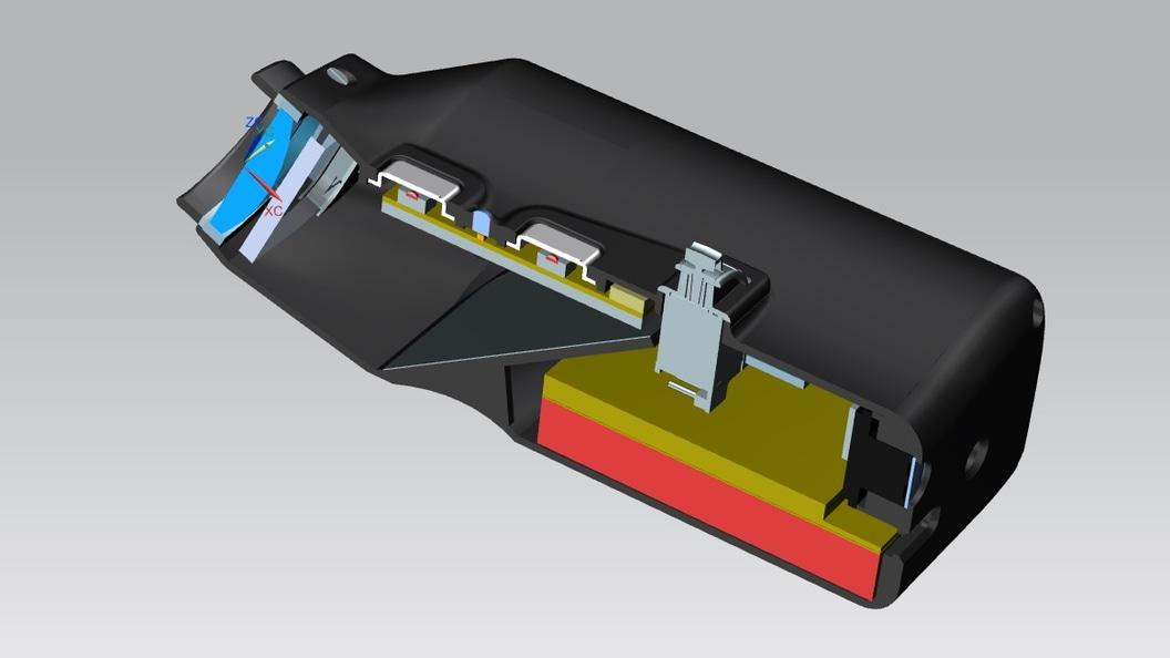 VoiSee® - ein fein abgestimmtes Elektronikkonzept findet in dem kompakten Gerätebody Platz.