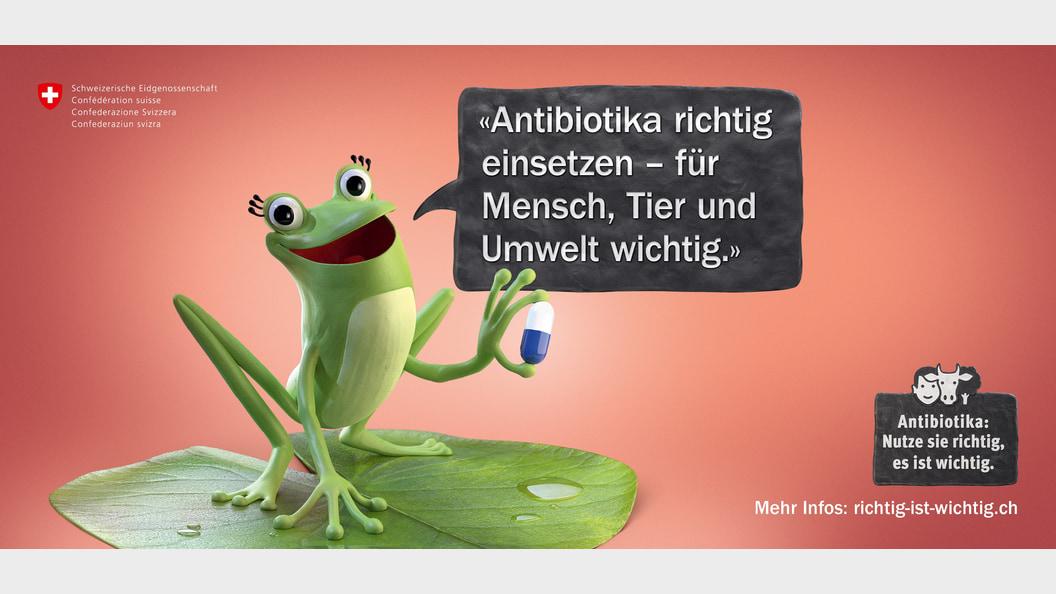 Bei der Bevölkerungskampagne wird aufgezeigt, dass Antibiotikaresistenzen uns alle betreffen.