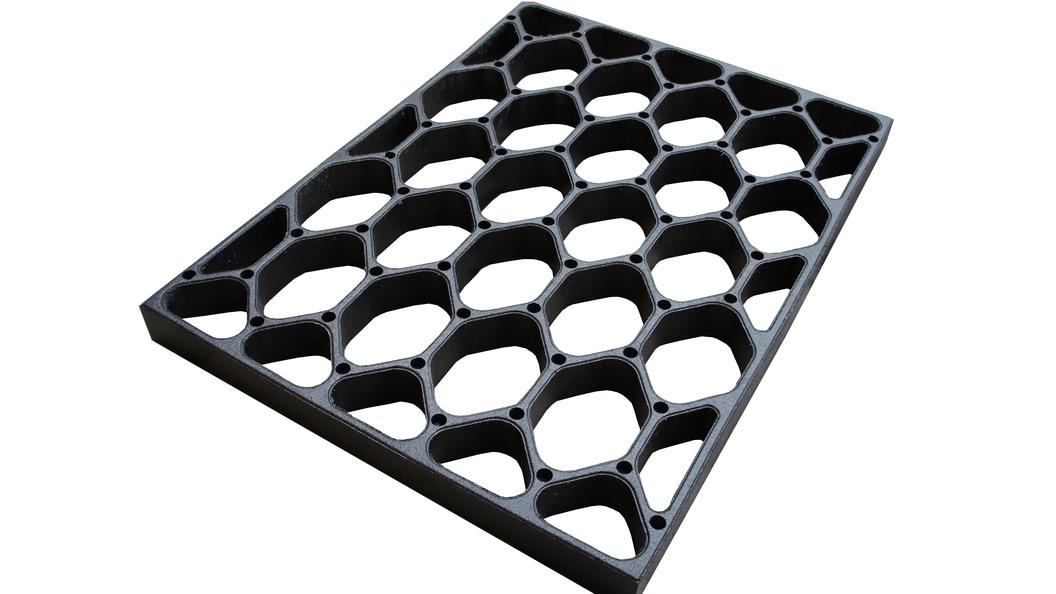 Tiefbox-Wabenmatte für Kalkstroh oder Sand