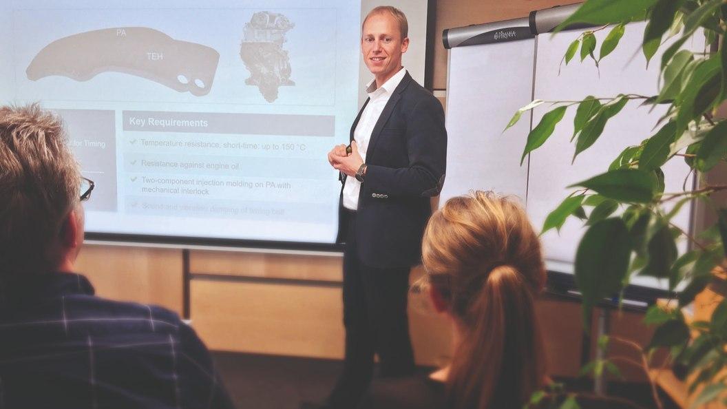 Josef Neuer Leiter des Produktmanagements EMEA der KRAIBURG TPE