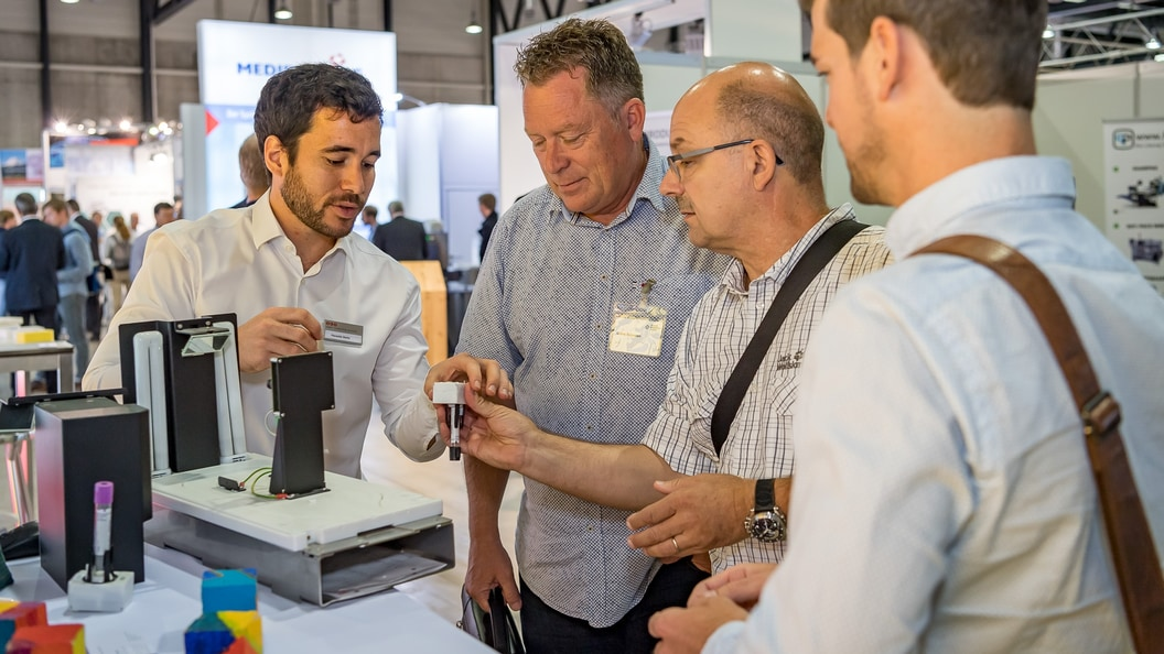 Once again, the Swiss Medtech Expo offered space for personal exchange among experts.