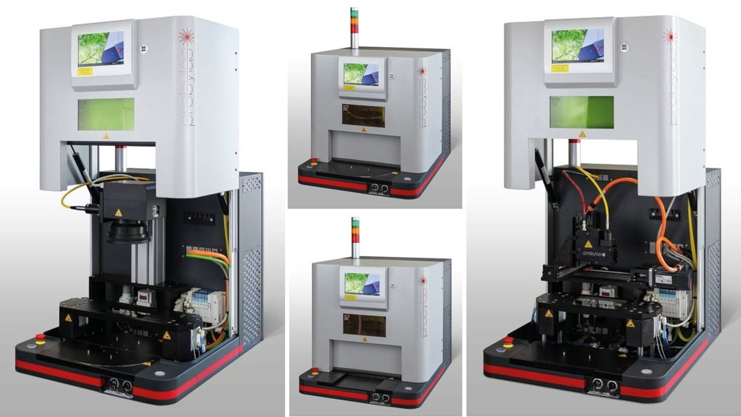 Compact and modular Turnkey S for laser welding of plastics.