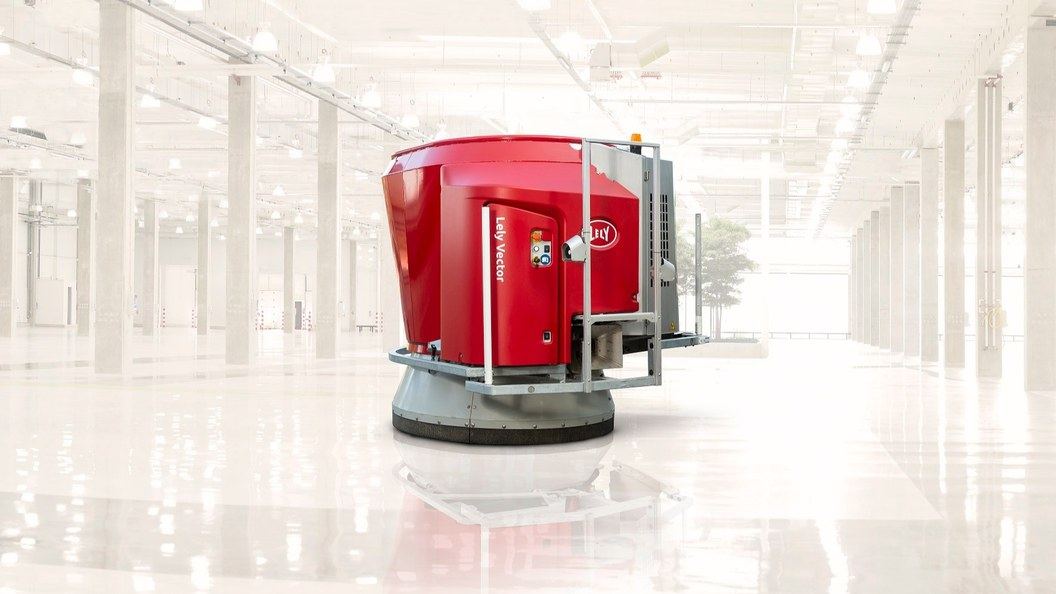 Der Lely Vector Misch und Fütterungsroboter (MFR)