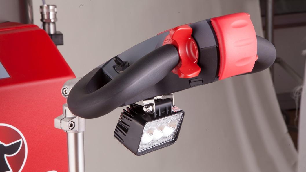 Durchdachte Details wie beispielsweise die LED-Beleuchtung...