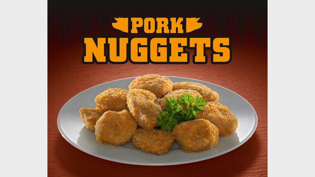 Pork-Nuggets aus Schweizer Fleisch
