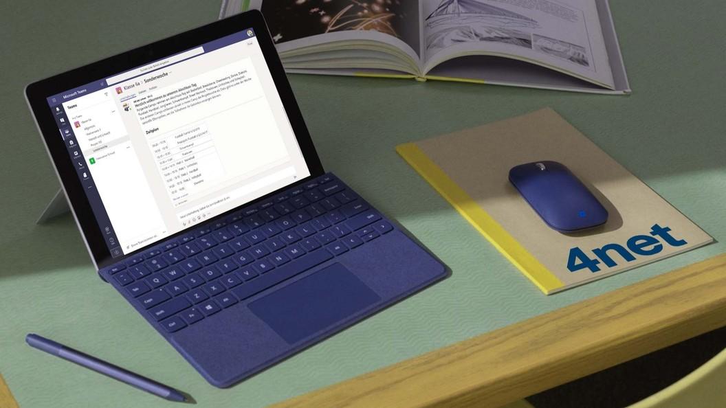 Microsoft Teams auf Surface