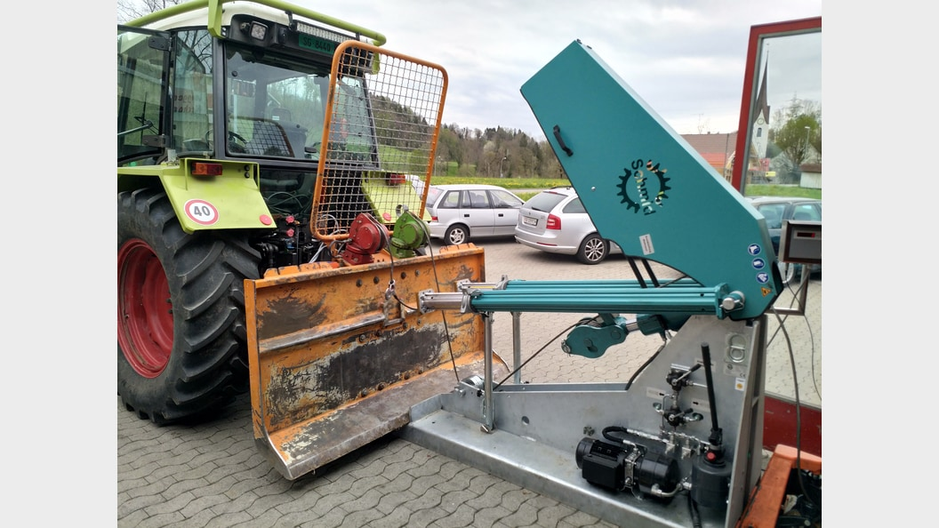 Windenprüfstand RITTER Schweiz AG