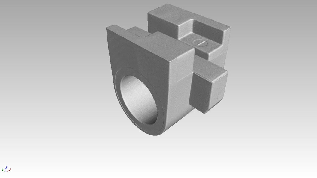 Bild 3: CT Volumen 3D