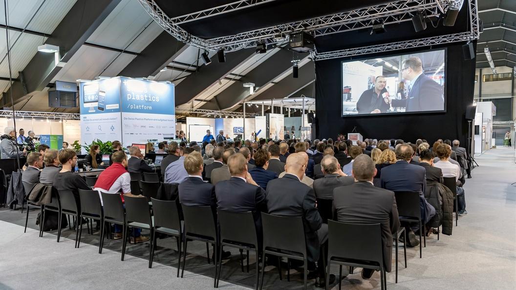 Die Swiss Plastics Expo findet vom 21. bis 23. Januar 2020 in Luzern statt.