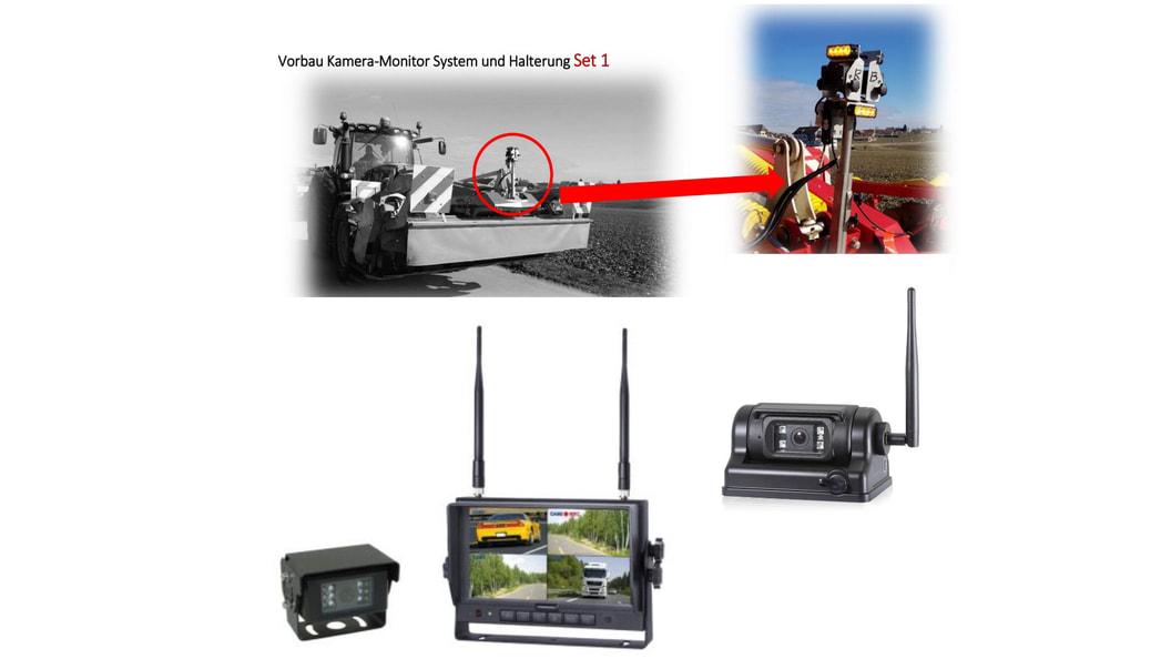 Querverkehrskamera, Vorbau Kamera-Monitor-System, Wireless Kamera