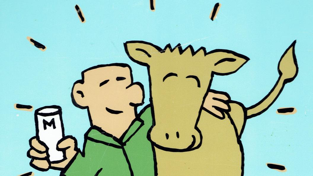 Glückliche Kühe, glücklicher Bauer! Es lohnt sich.
