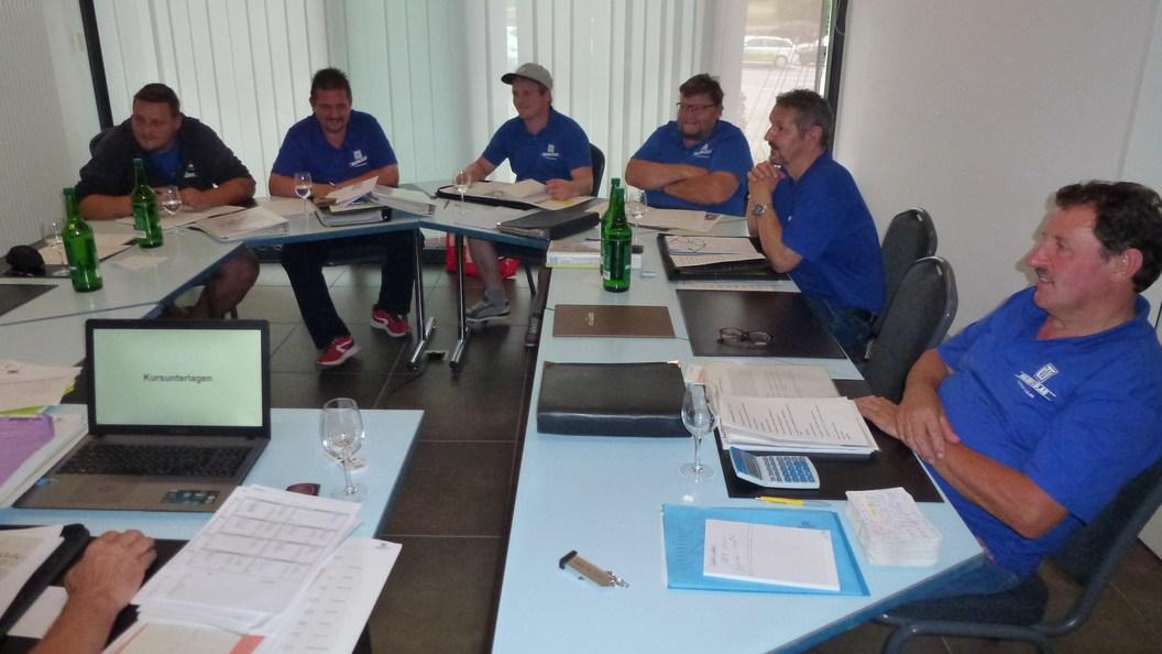 Kundenberater WALSER+CO.AG - Schulungstag (Foto: Juni 2019)
