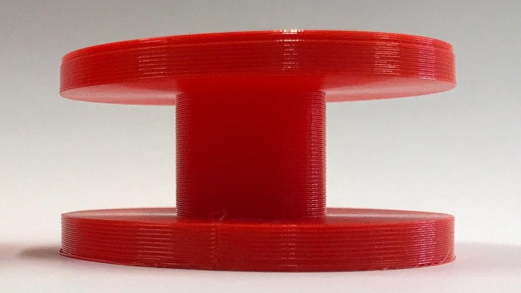 Der RotBot kann sowohl Überhänge nach aussen, wie auch nach innen in guter Qualität drucken