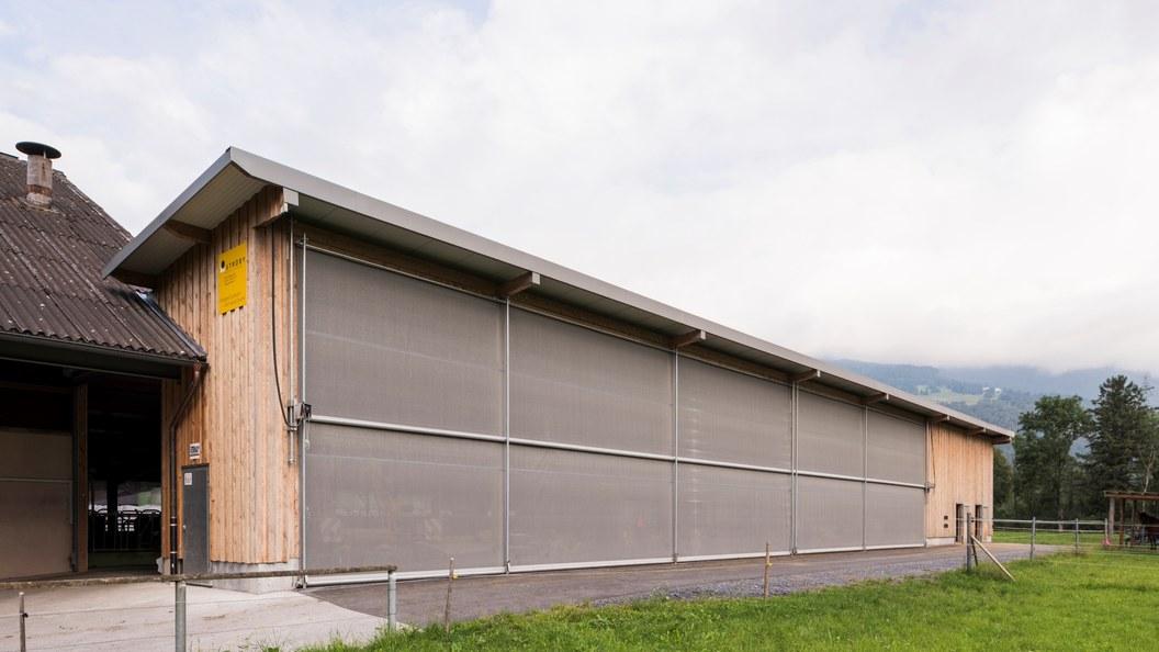 An- und Umbau Laufstall, Balzers FL