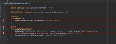 making sure that Gradle is synchronized