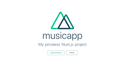 Preview Of Nuxt.js project