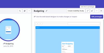 Indigo.Design prototype link