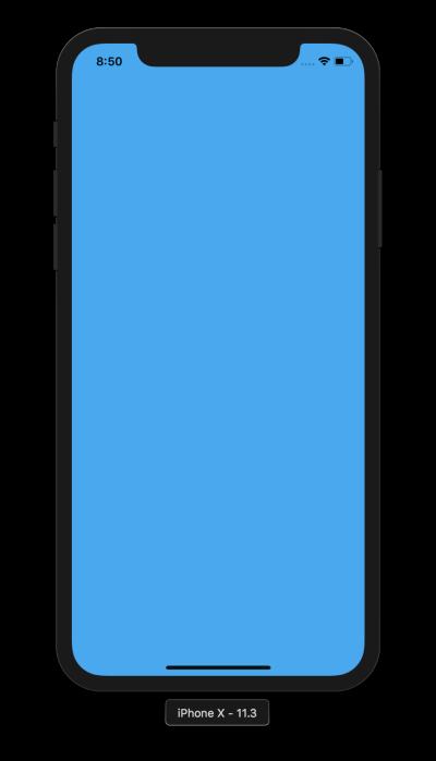 Minimal Flutter Application