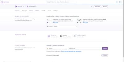 Choose GitHub as deployment method