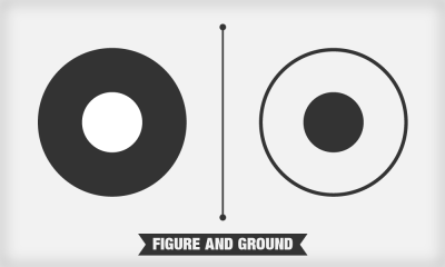 Image depicting the figure-ground relationship