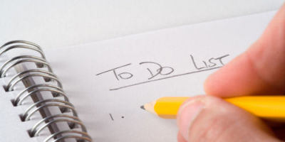 An image of a to-do list