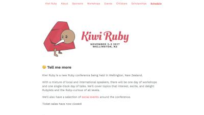 Kiwi Ruby