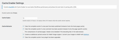 Cache Enabler plugin from KeyCDN