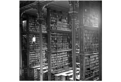 Photograph of the old Public Library of Cincinnati