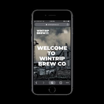 Wintrip Brew Co. mobile site