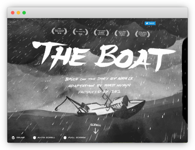 SBS's story the boat
