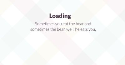 Slack's loading messages reflect the personality of the brand and the people working there. That's the power of copywriting at play.