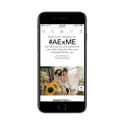 American Eagle's unofficial influencer program