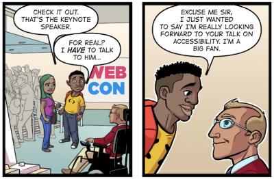 Comics Accessibility