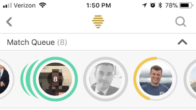 Bumble users have 24 hours to chat.