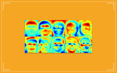 Examples of eigenfaces obtained with OpenCV
