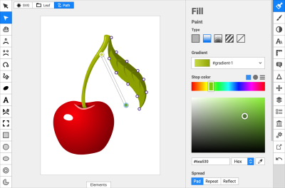 Simple Online SVG Editors