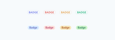 A color system for icons consisting of nine colors