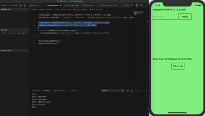 Changing Layout on the fly with Visual Studio Code
