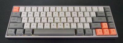 DSA Ferrous keycaps in PBT plastic by Signature Plastics