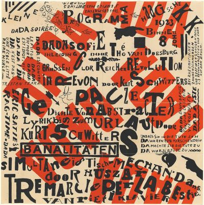 Small Dada Evening by Kurt Schwitters and Theo van Doesburg