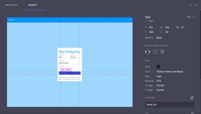 Indigo.Design design specs