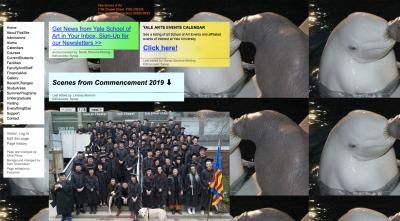 Yale University's art department website