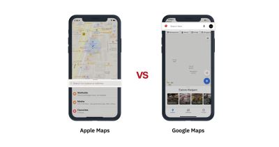 UX Search Patterns for Apple Maps and Google Maps
